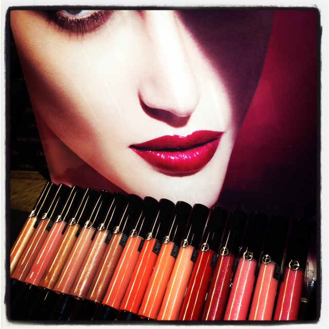 ARMANI FALL COLLECTIONS:  The Search for the Perfect Red