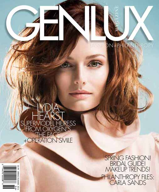 Cover Model Heiress - Lydia Hearst at GEN LUX