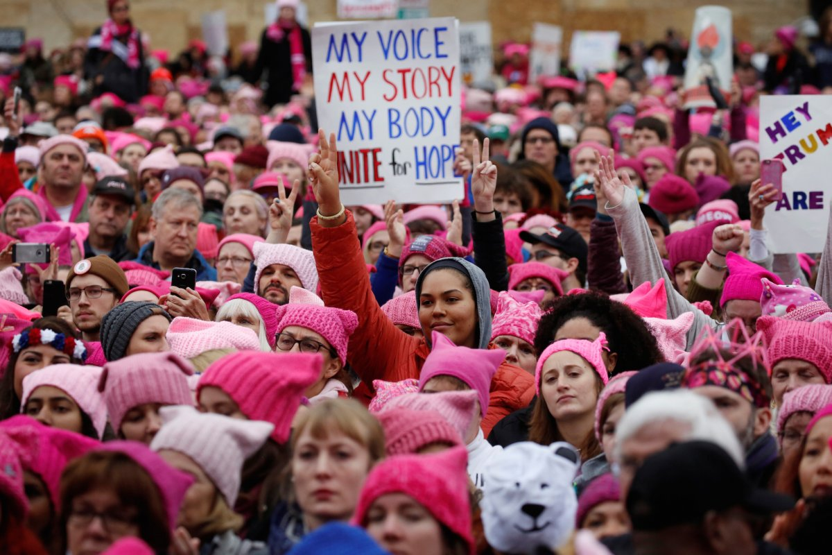The Pink Hat that moved the World: The Pussy Hat Riot